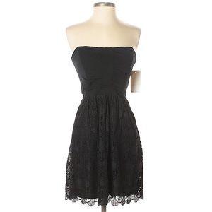 Ella Moss Size S NWT black dress MSRP $198